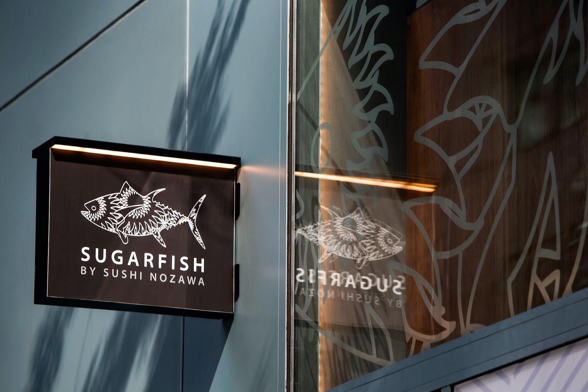 a sign of sugarfish