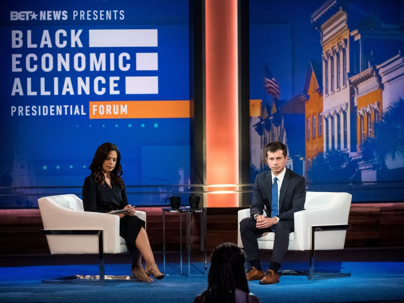 Black voters want 2020 candidates to talk about the economy. At the Black Economic Alliance Forum, they did just that.