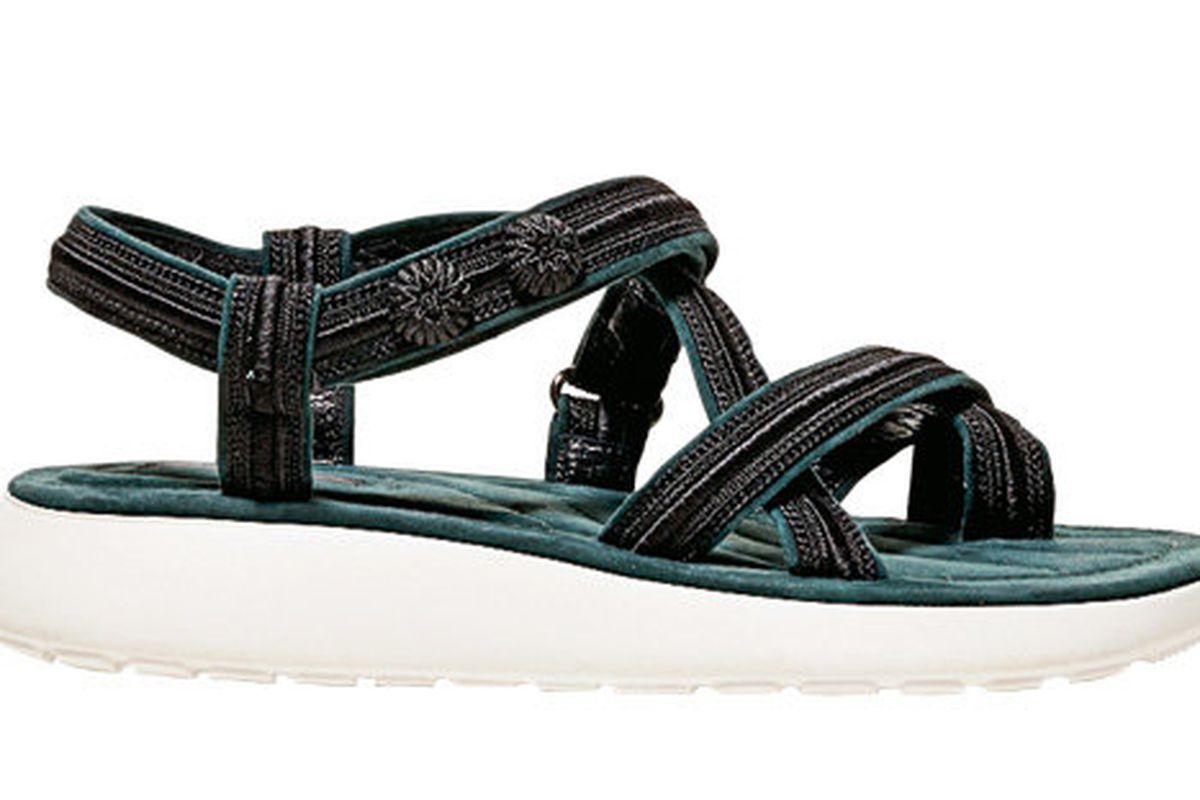 Marc Jacobs Teva-like sandals.