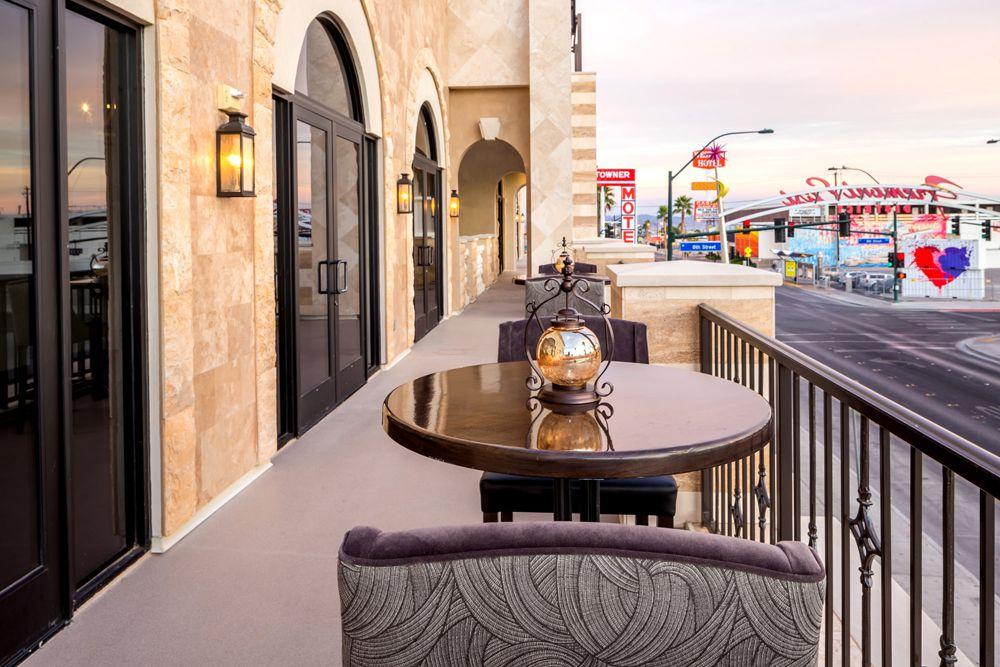The Venue Las Vegas patio