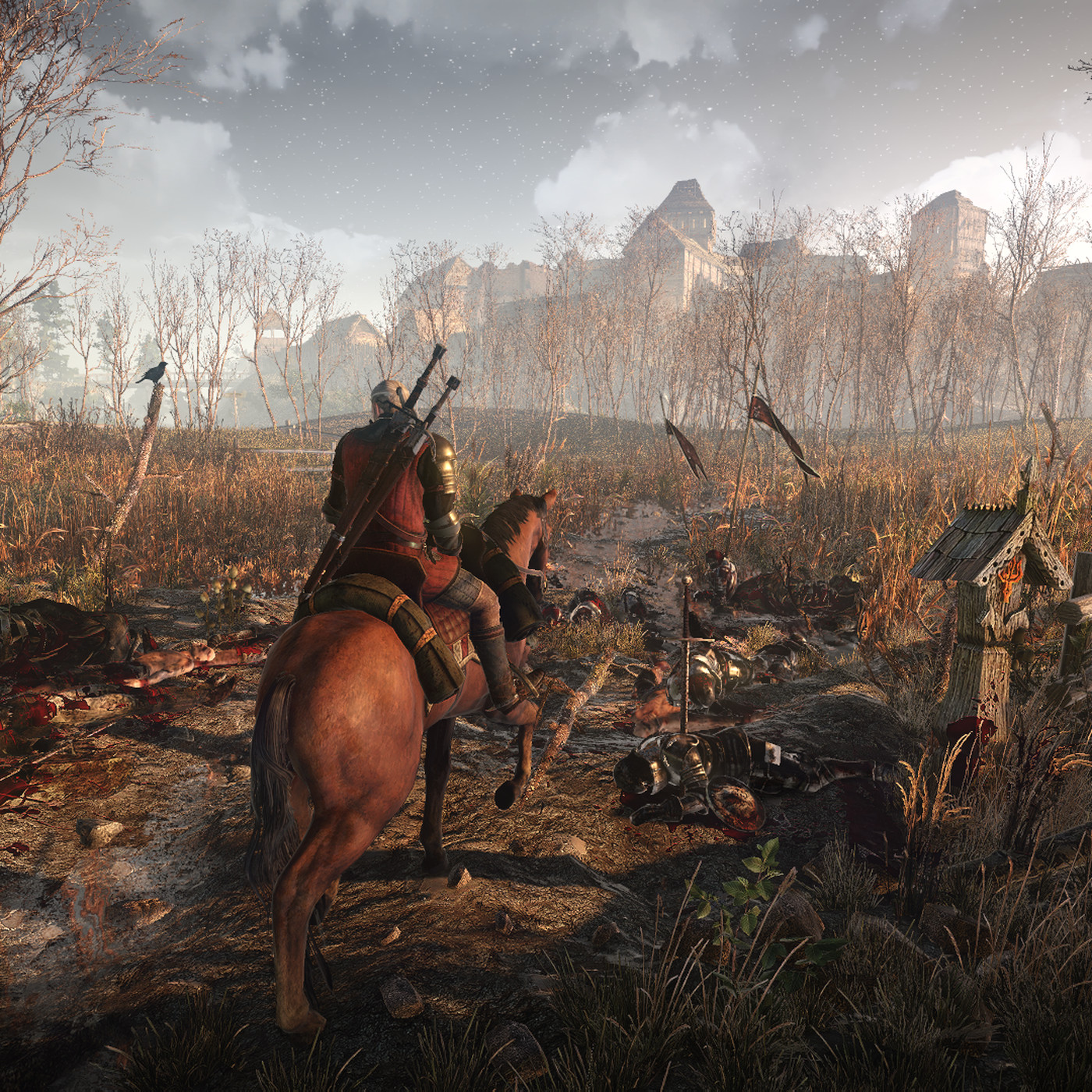 The Witcher 3 should be played on the hardest difficulty