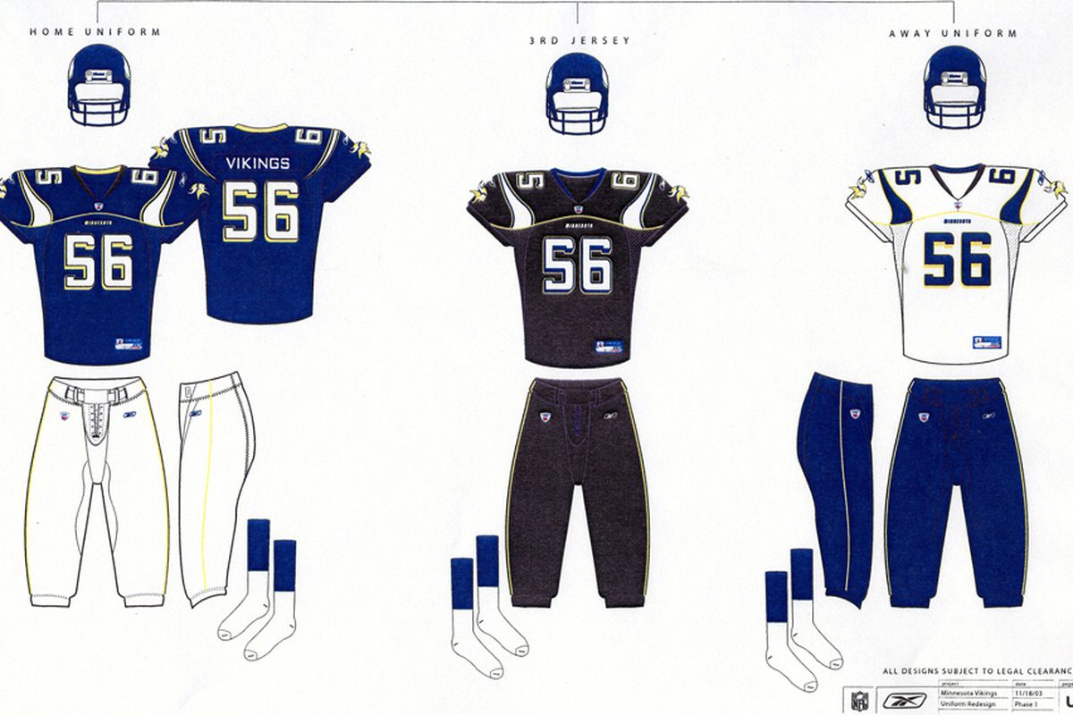 The uniforms that almost were back in 2003.