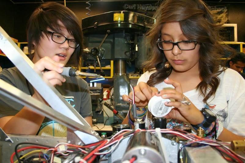 High School Girls Build Kick Ass Robots The Verge