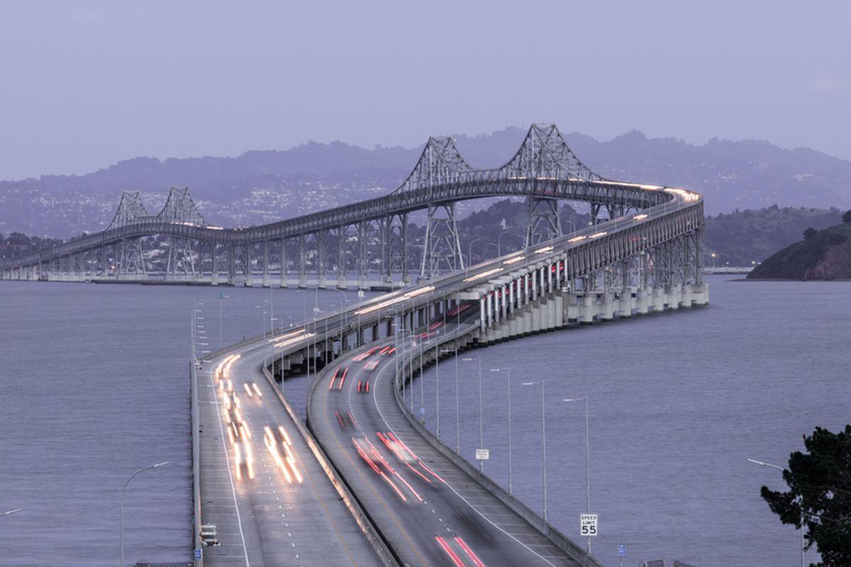 The San Rafael Bridge.