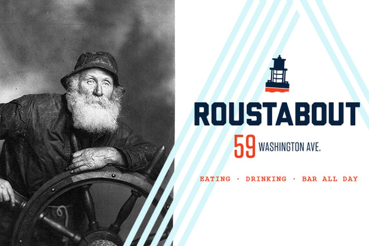 Official branding image for Roustabout, Portland.