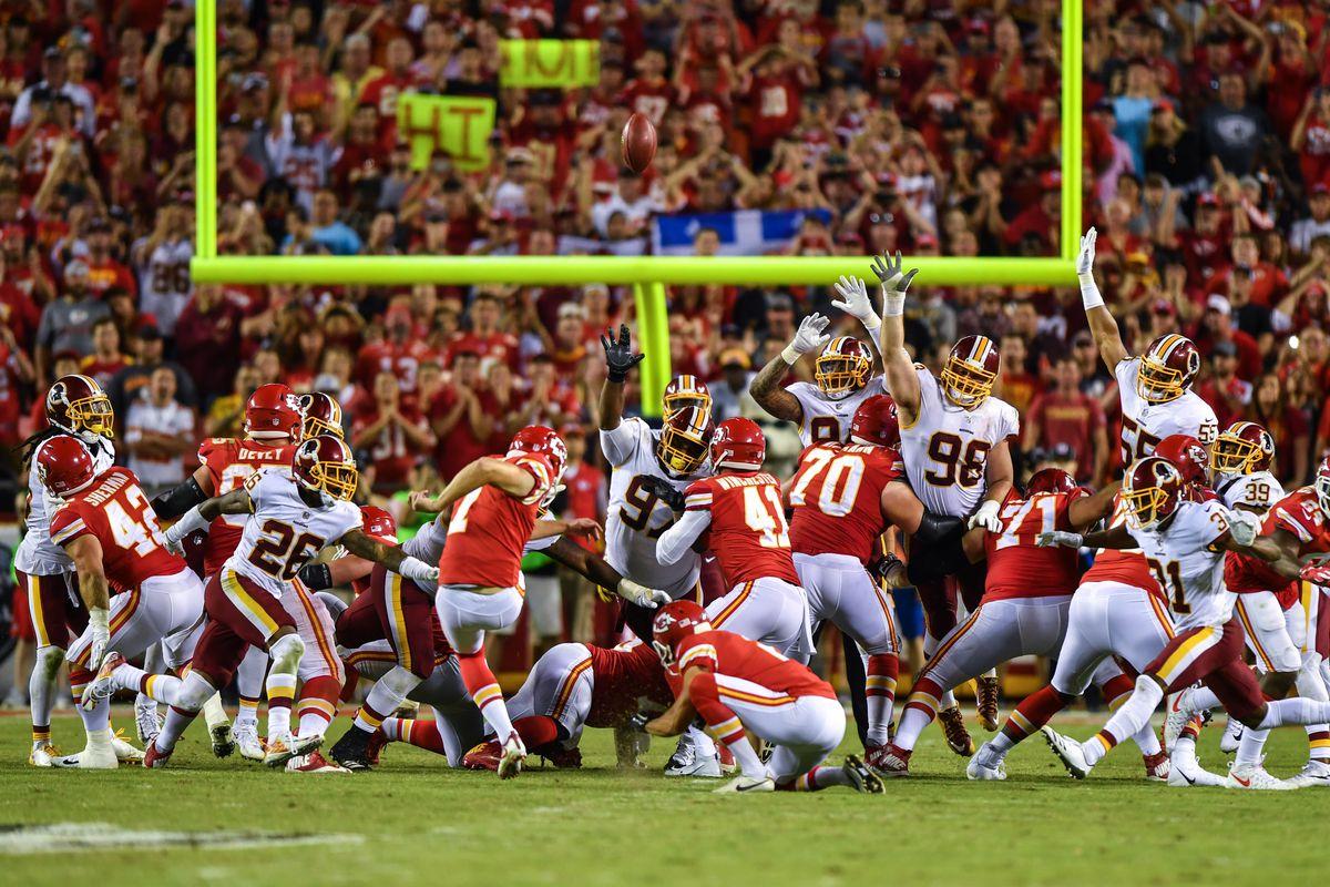 Washington Redskins v Kansas City Chiefs