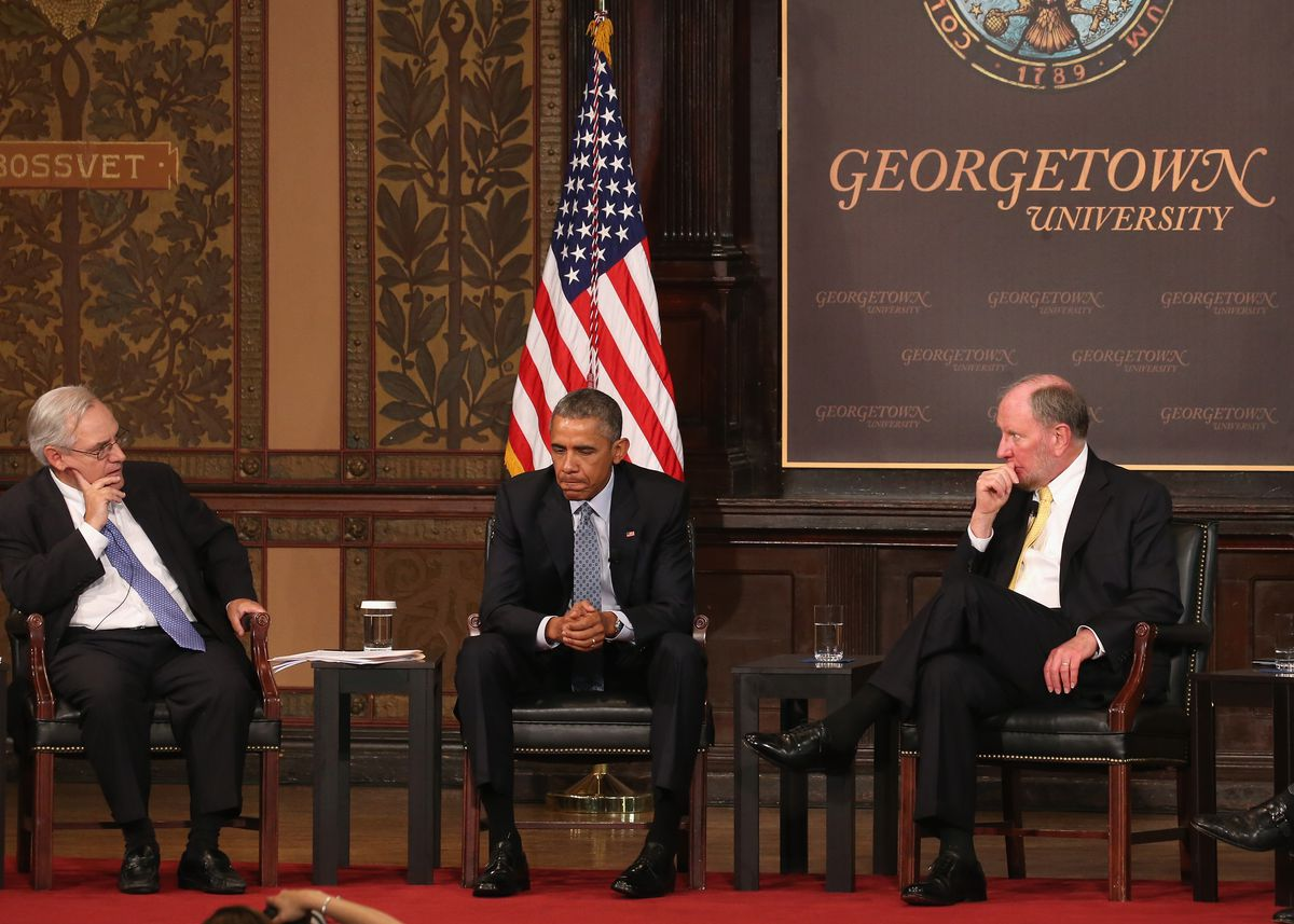 Obama Georgetown panel