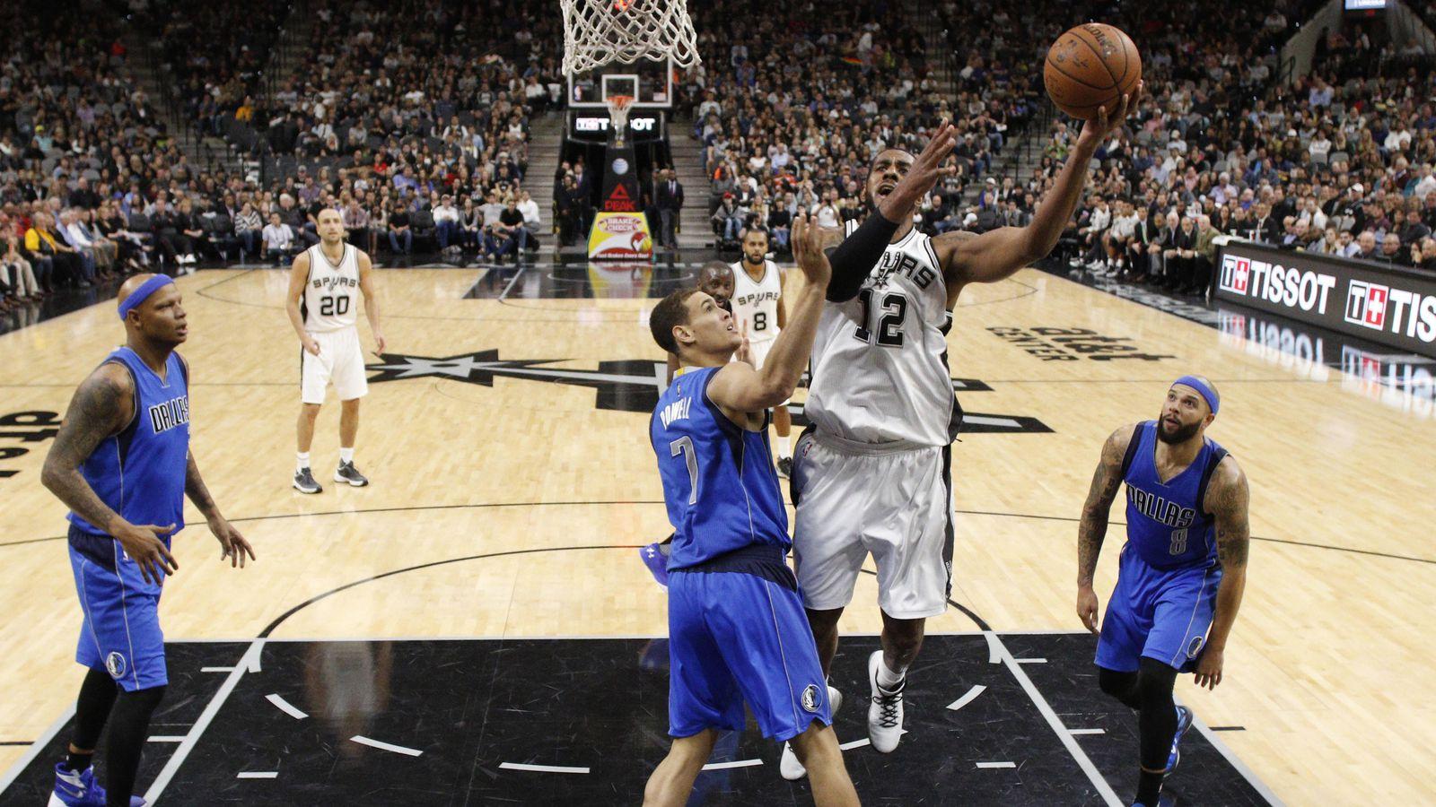 Seems like old times for Spurs vs. Mavericks