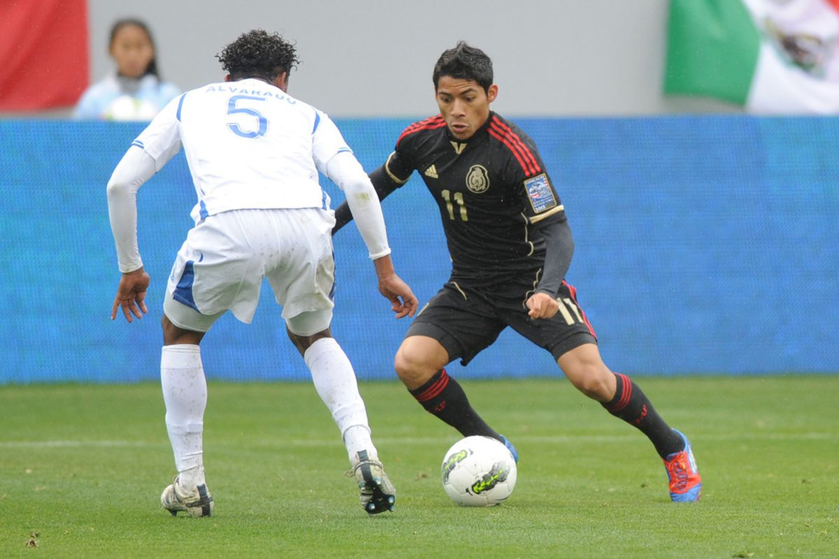 Javier Aquino - His absence was felt vs. Murcia after his injury.