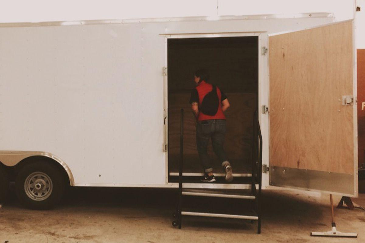 La Barbecue's new service trailer