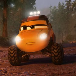 """Smokejumper Dynamite is part of the firefighting team in Disney's """"Planes: Fire & Rescue."""""""