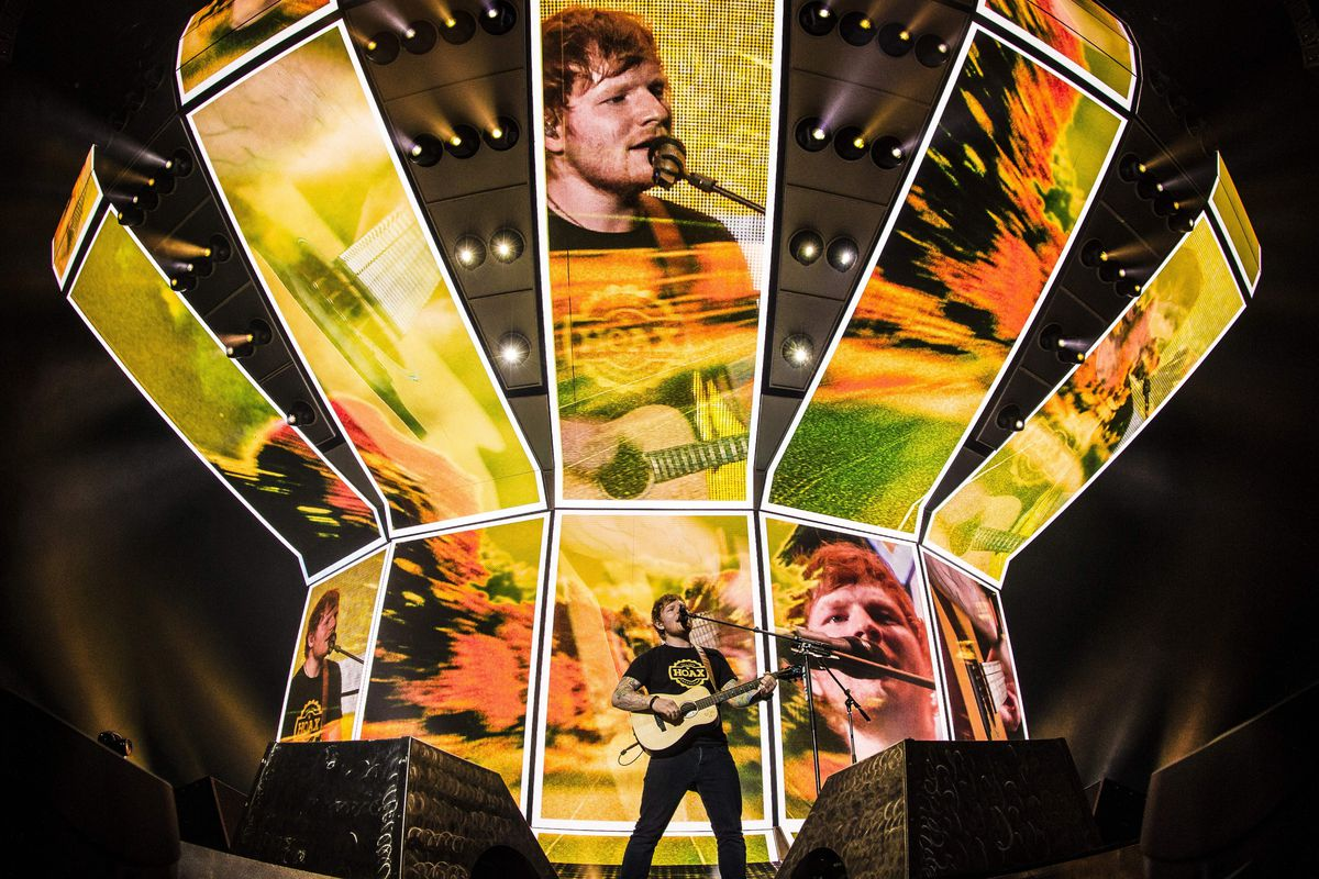 Ed Sheeran Performs In Amsterdam On April 3 2017 Paul Bergen Afp Getty Images