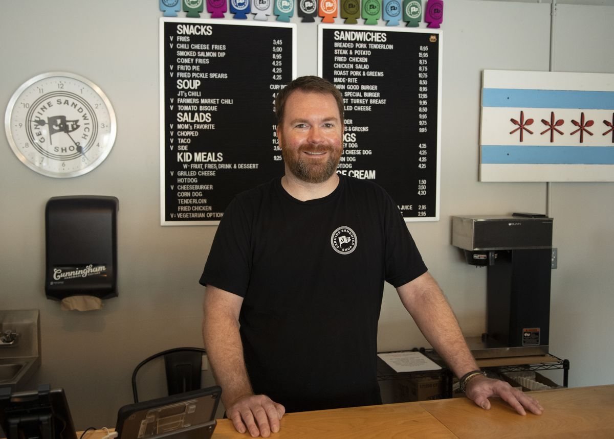 Christopher Cunningham is the owner of J.T.'s Genuine Sandwich Shop.