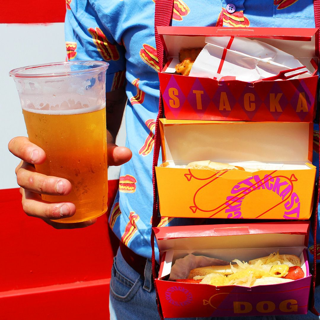 Stacka, a snack transportation system.