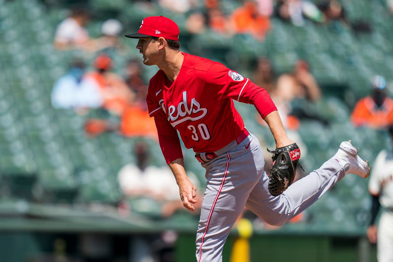 MLB: Cincinnati Reds at San Francisco Giants