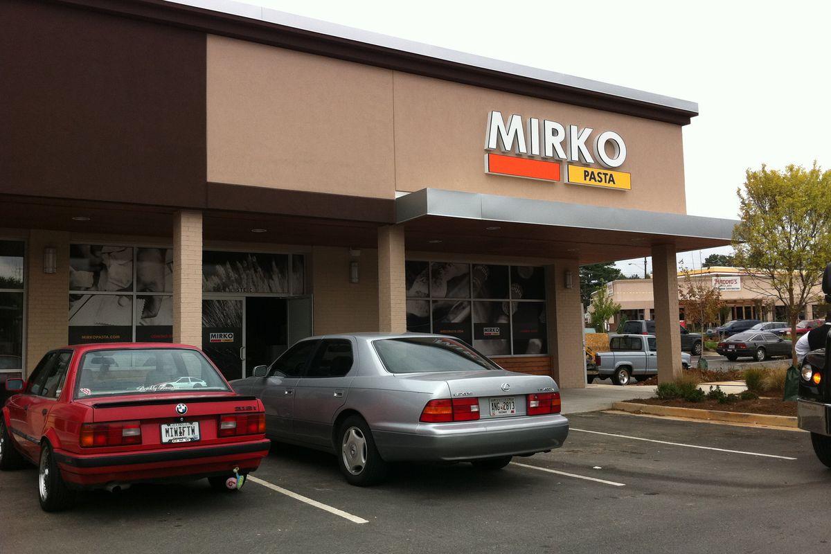 <br>The Mirko Pasta in Toco Hills.