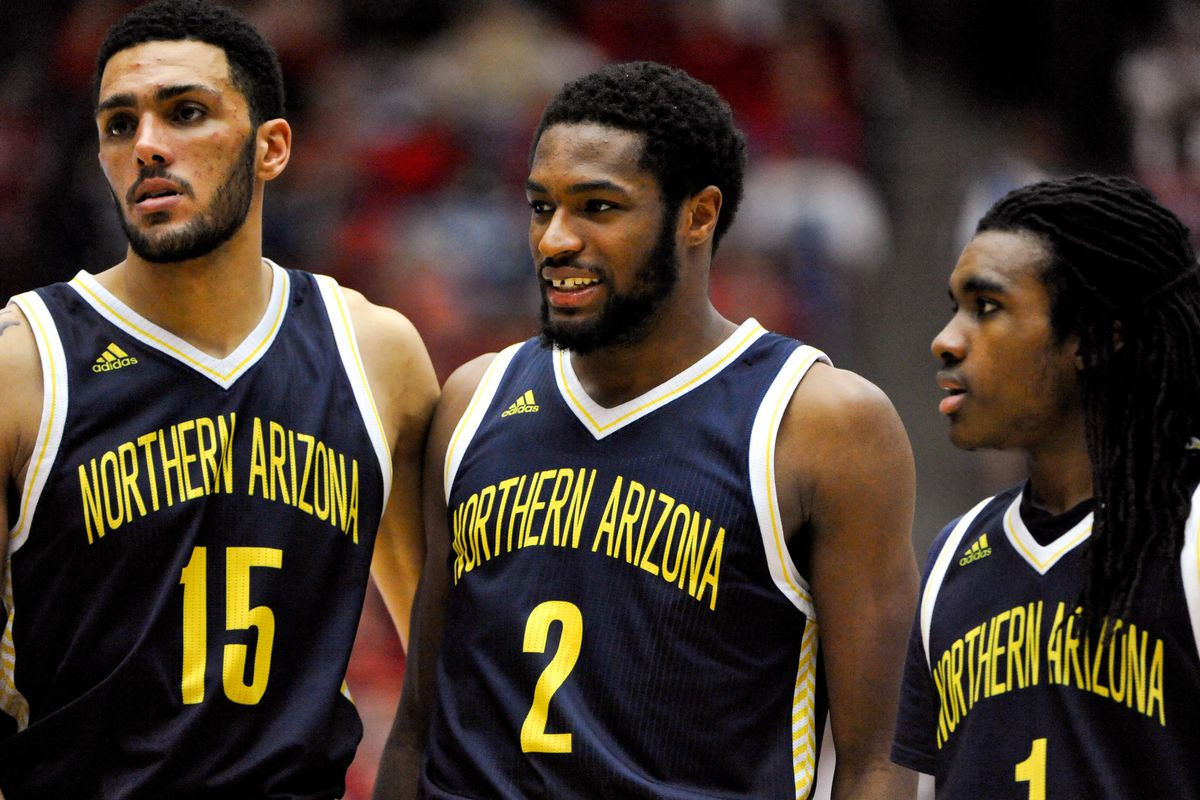 Len Springs (15), Quinton Upshur (2), and Aaseem Dixon all played a big role in NAU's win.