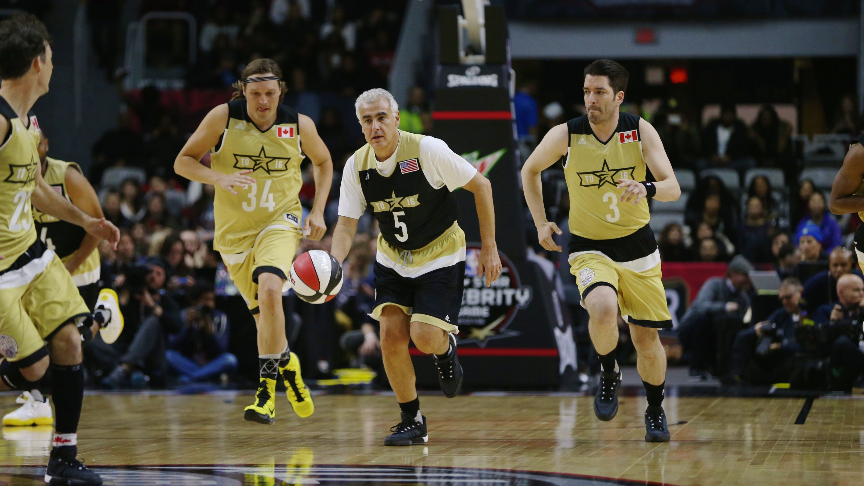 NBA Celebrity Game 2016
