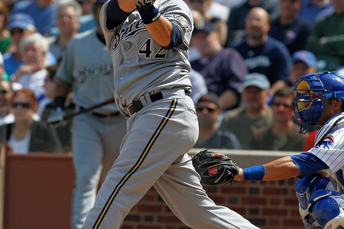 Casey McGehee  hits a two-run home run in the third inning.