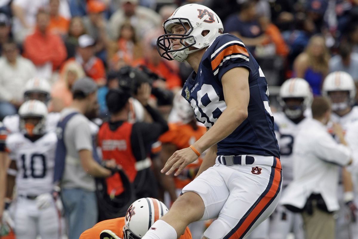 Can Carlsson continue the trend of great Auburn kickers?
