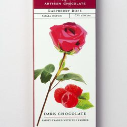 """Amano Artisan Chocolate's Raspberry Rose bar won a gold award in the International Chocolate Awards, Americas Competition 2017. Amano opened in 2007 in Orem and is """"America's Most Highly Awarded Chocolate Maker,"""" according to its packaging."""