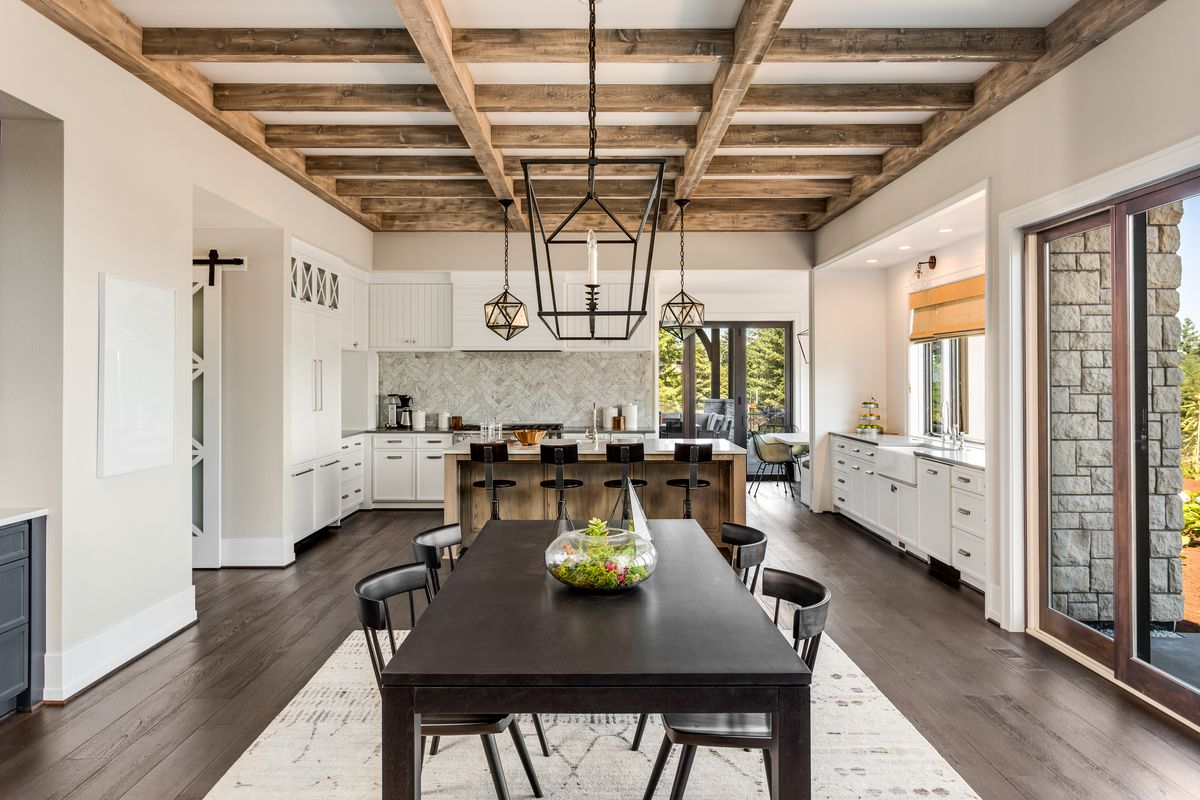How to Build a Wood Beam Ceiling - This Old House