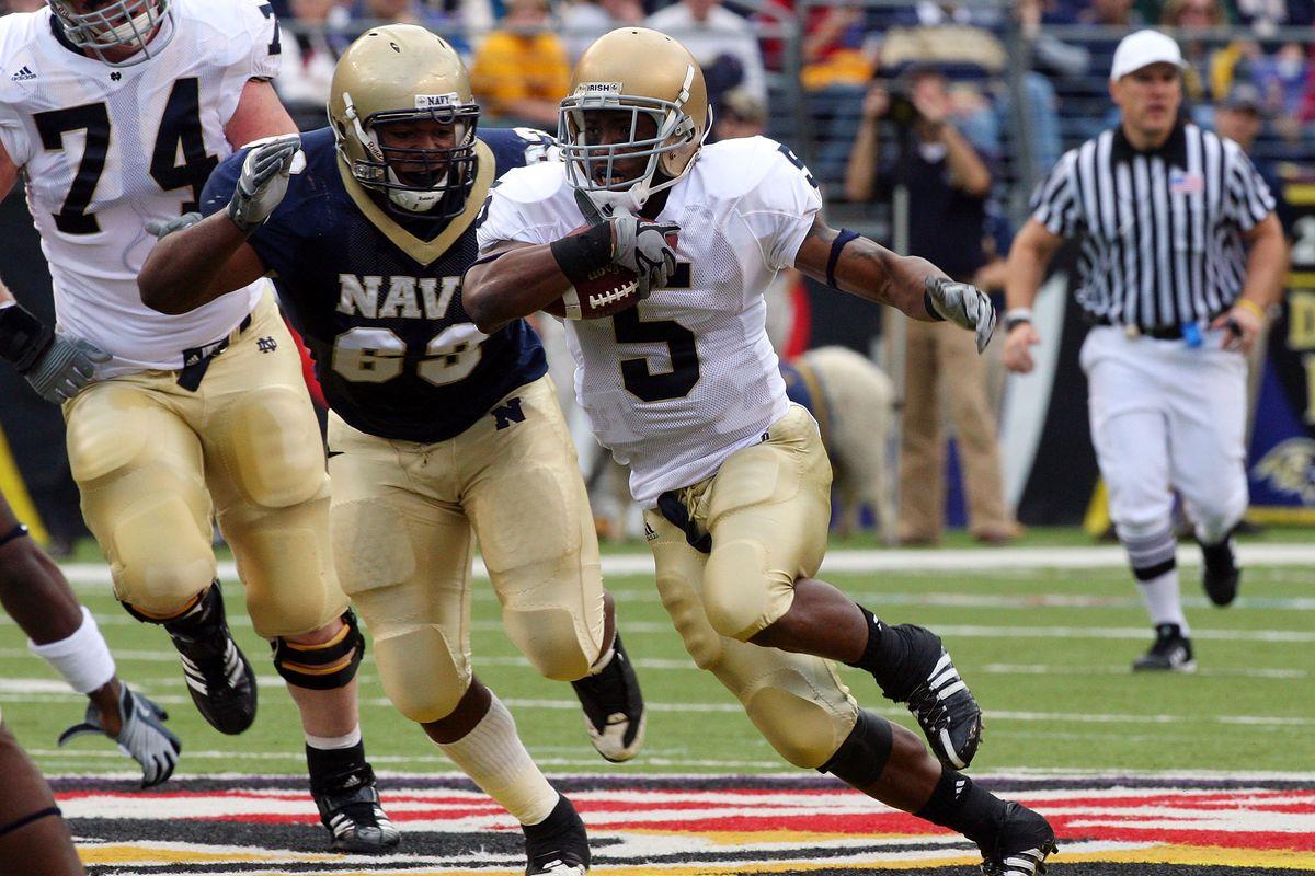 Navy Midshipmen v Notre Dame Fighting Irish