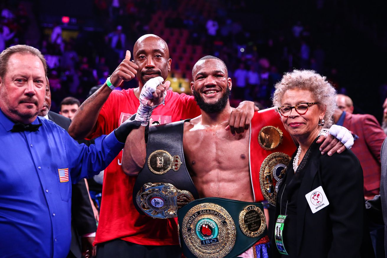 LR TGB FIGHT NIGHT JULIAN WILLIAMS WINS TRAPPFOTOS MAY112019 1172.0 - Trainer Edwards on Williams' big upset and training him after Charlo loss