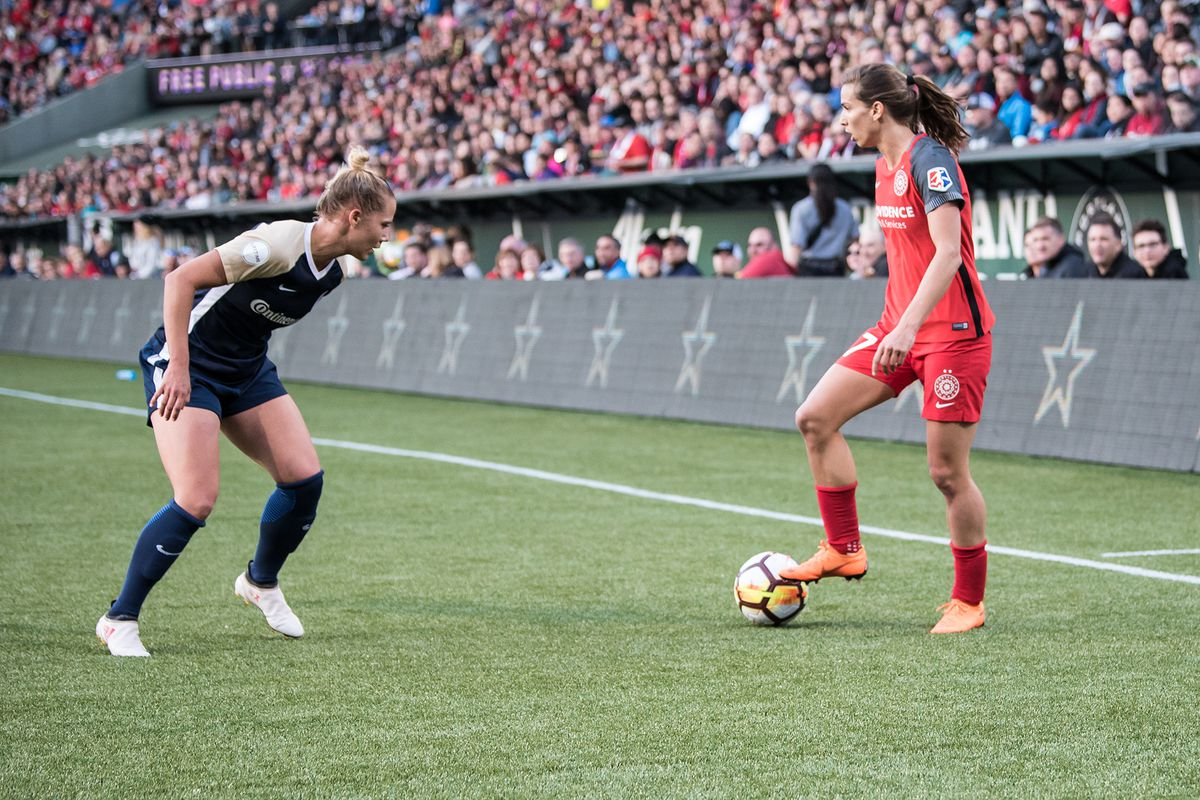 Portland Thorns make the Courage to do it to themselves, win