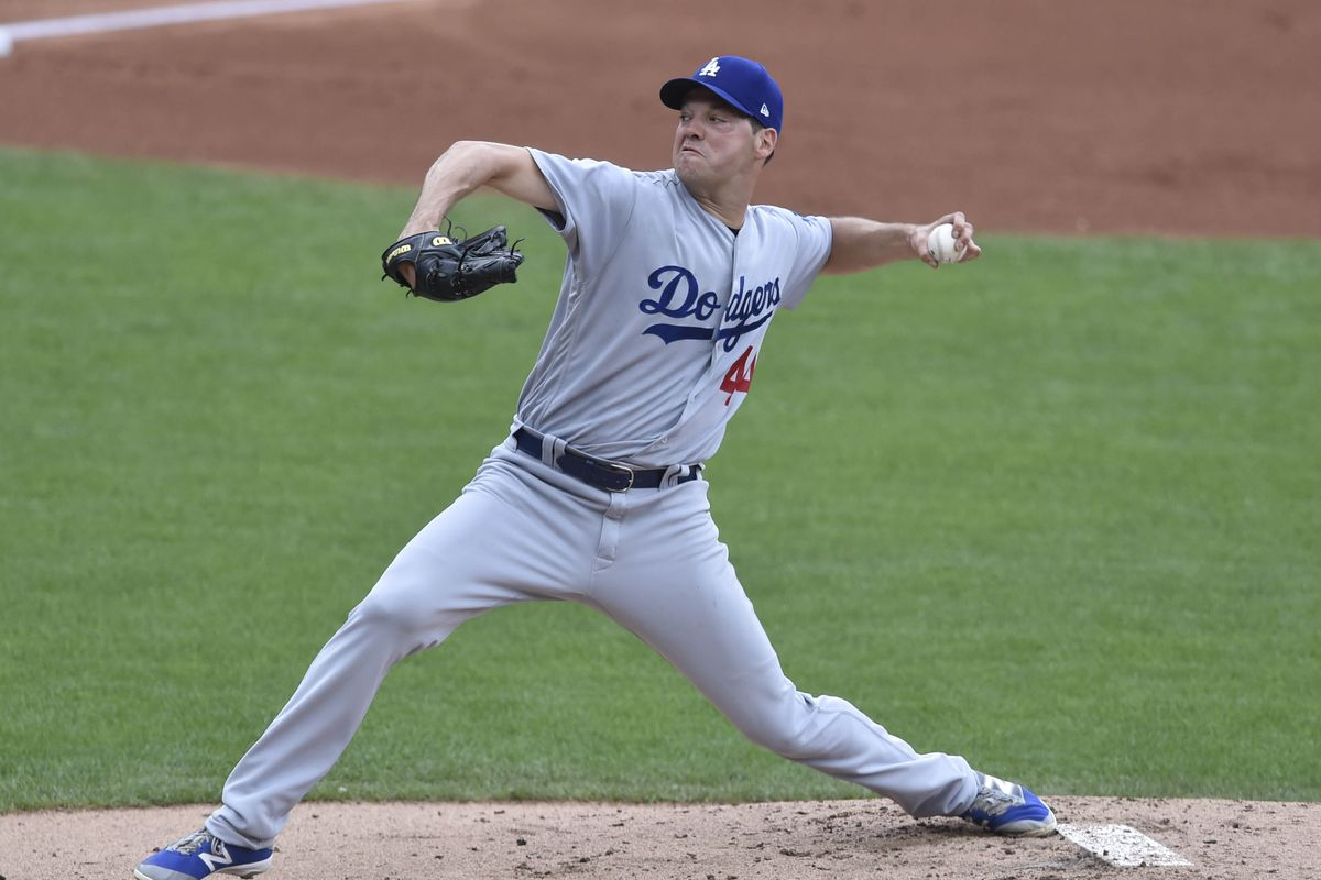 dodgers vs. padres probable pitchers, game times & tv schedule