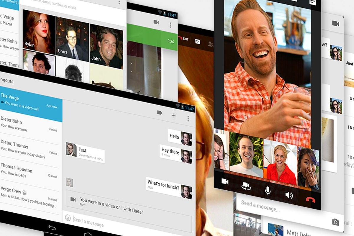 Google Adds Ability To Invite Non Google Users To Hangouts The Verge