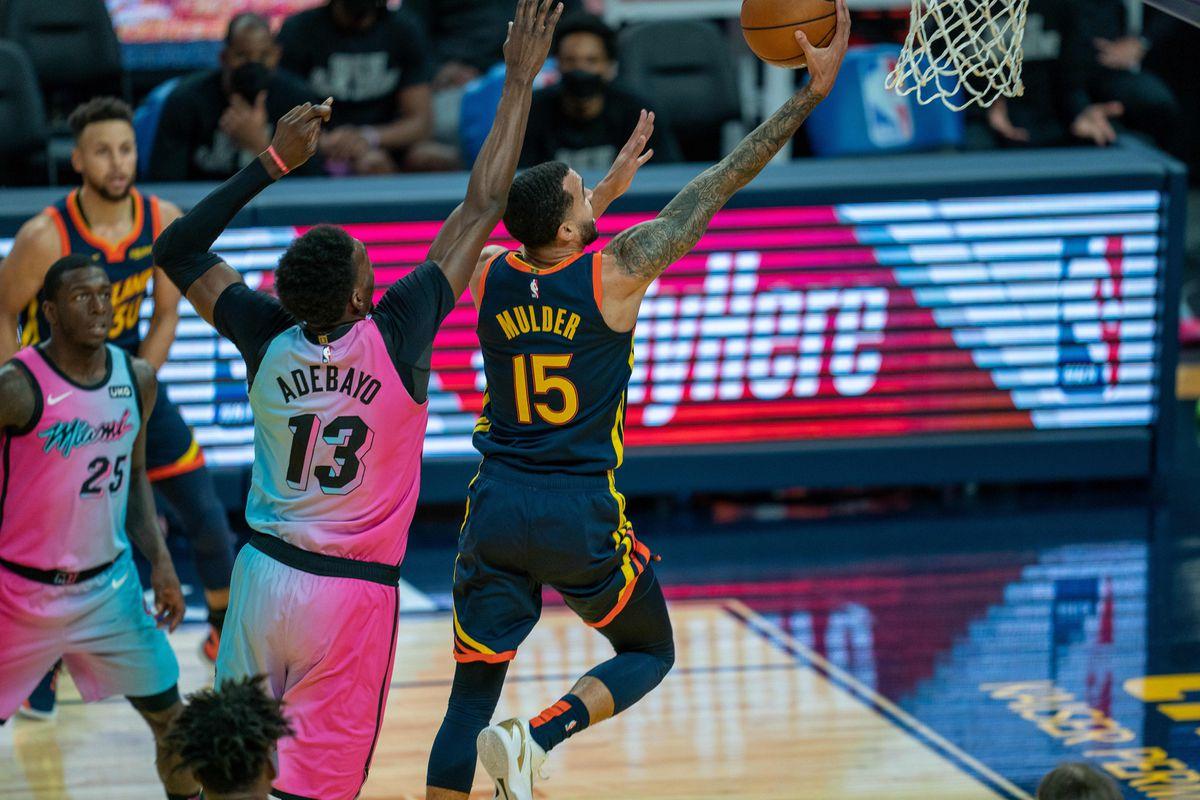 NBA: Miami Heat at Golden State Warriors