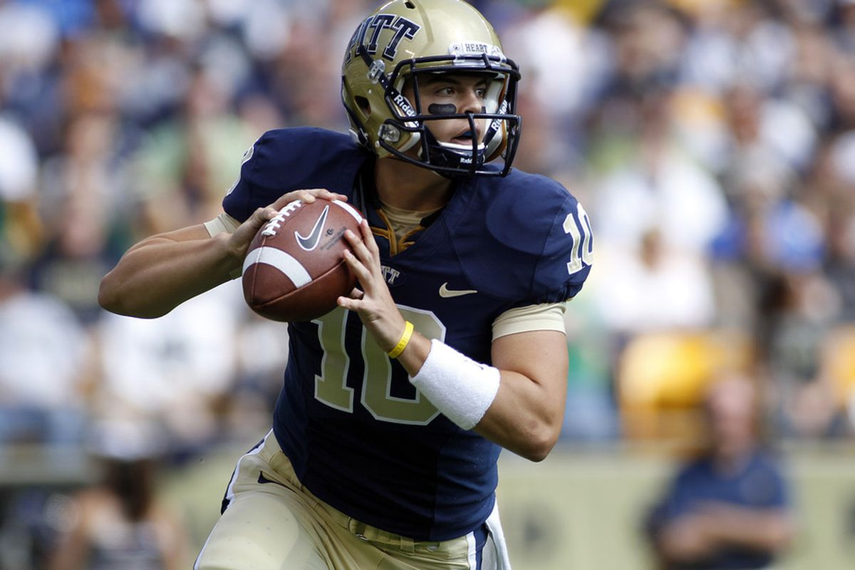 Will Trey Anderson reclaim Pitt's backup quarterback spot? (Photo by Justin K. Aller/Getty Images)