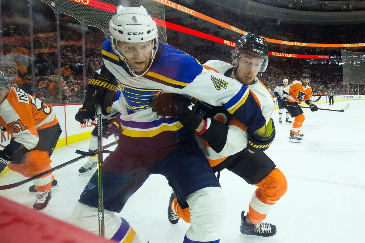 NHL: St. Louis Blues at Philadelphia Flyers