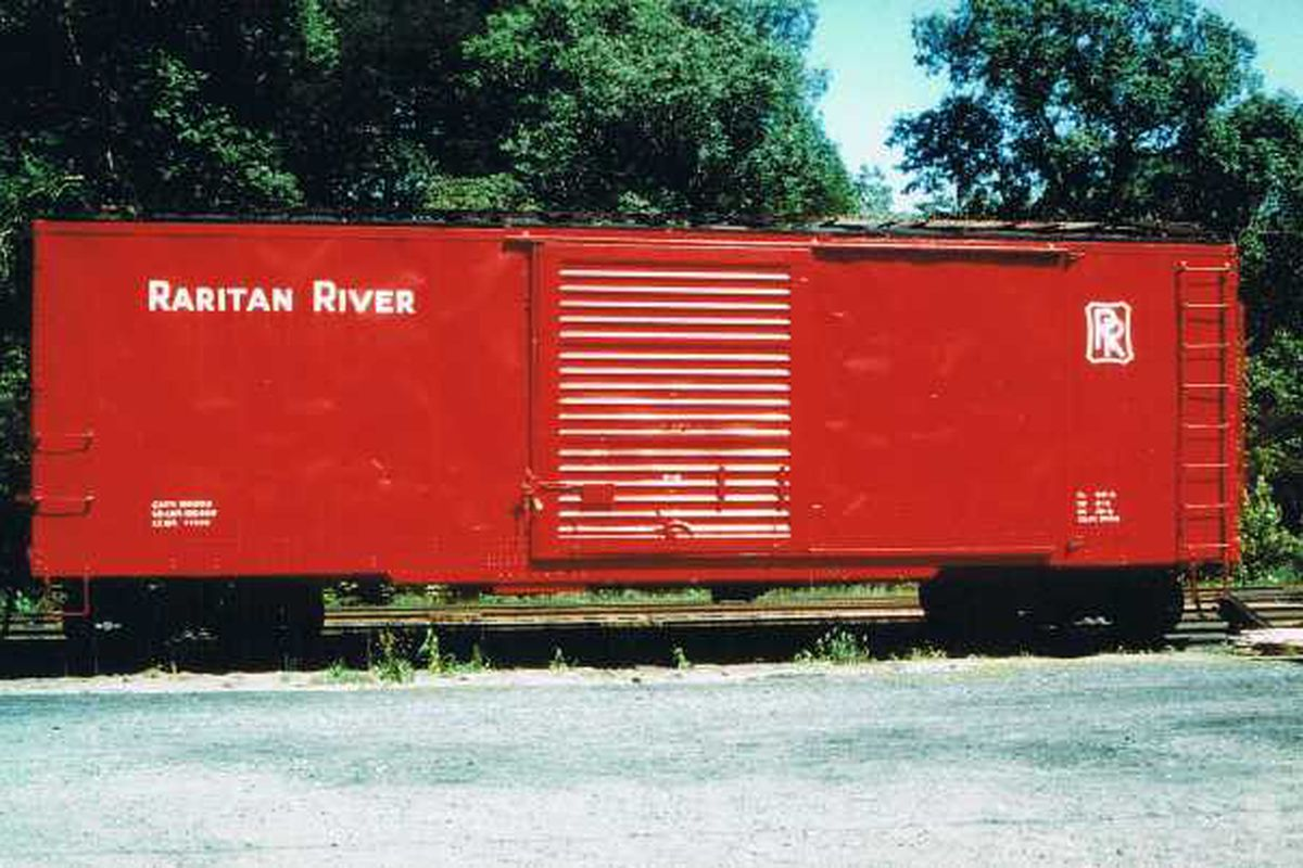 There are no good pictures of Boxy as a Red, so instead you get a Red Boxcar