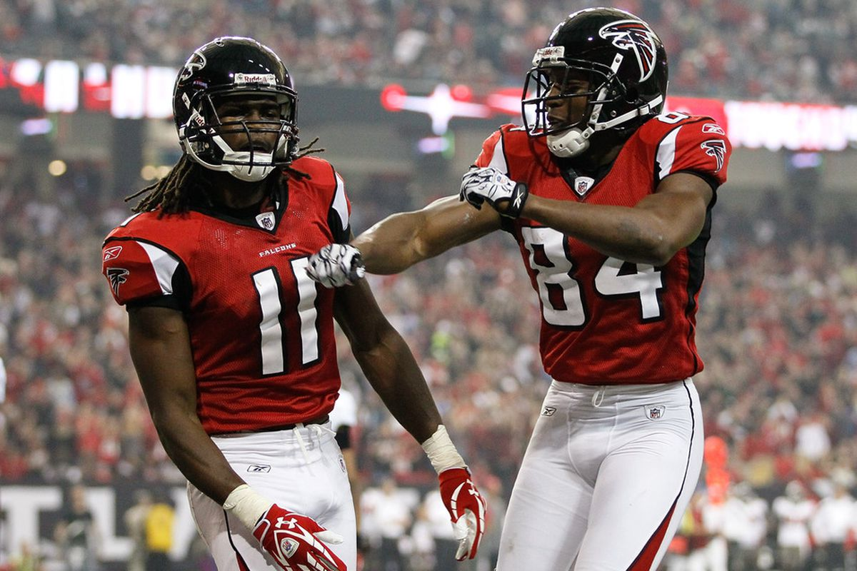 Atlanta's Julio Jones and Roddy White are turning into one of the NFL's best receiving duos.