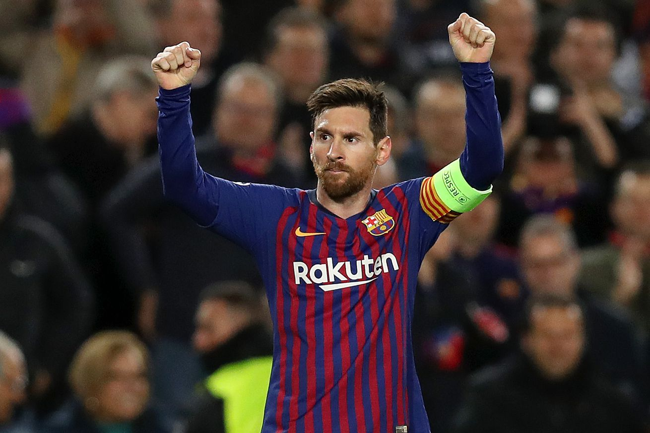 Magical Messi at the double double for Barca