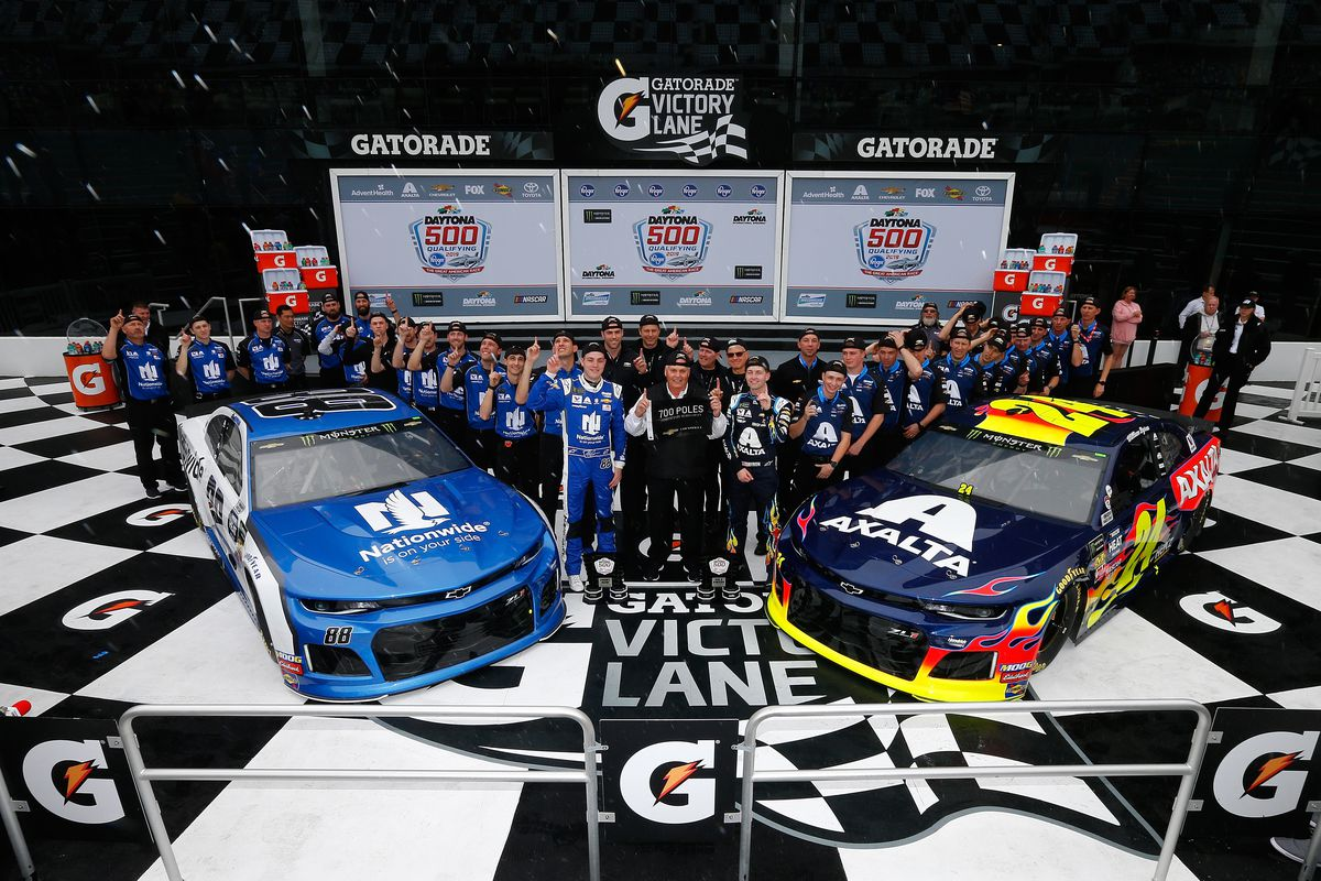 Daytona 500 Lineup And Starting Grid For 2019 Sbnation Com