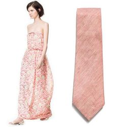 """Perfect for beach-side weddings, this easy, breezy maxi dress features a floral print in an on-trend muted palette. Snag you date a complimentary tie and don't forget to remind him that real men wear pink.  <a href=""""http://www.zara.com/us/en/woman/dresses"""
