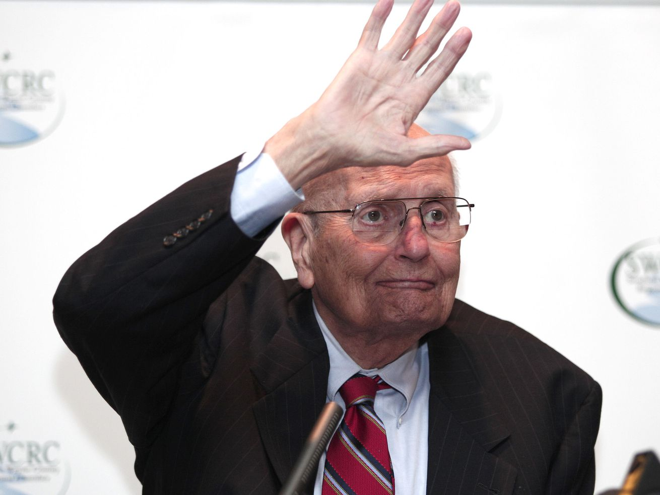 Rep. John Dingell at a luncheon in February 2014.