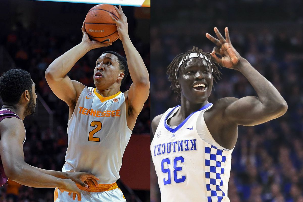 Uk Basketball: Kentucky Wildcats Basketball Vs Tennessee Vols: Game Time
