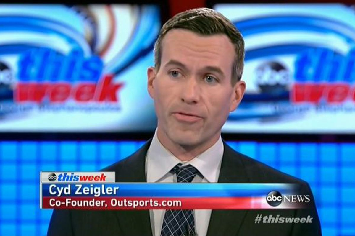 Outsports' Cyd Zeigler visits This Week with George Stephanopoulos