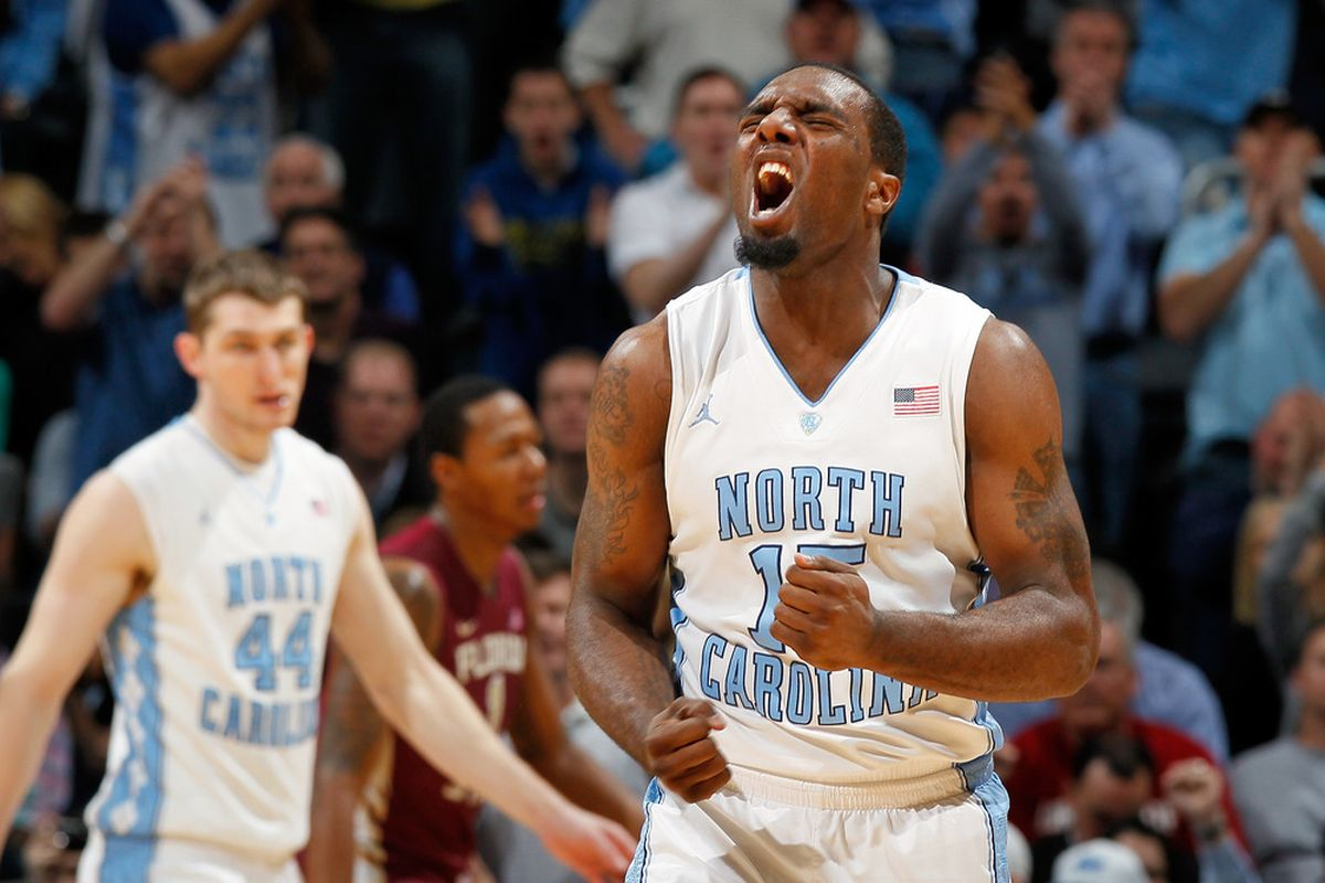 P.J. Hairston reacts in the second half against the Florida State Seminoles during the Final Game of the 2012 ACC Men's Basketball Conference Tournament.