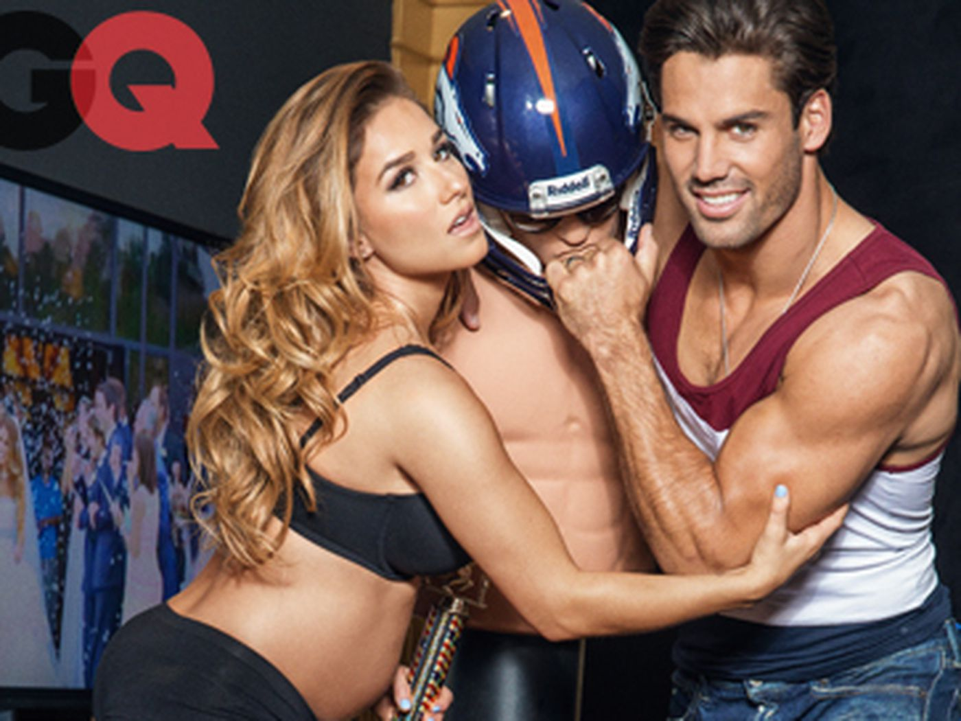 Eric Decker Gets Shirtless In GQ Photo Spread With Wife Jessie James