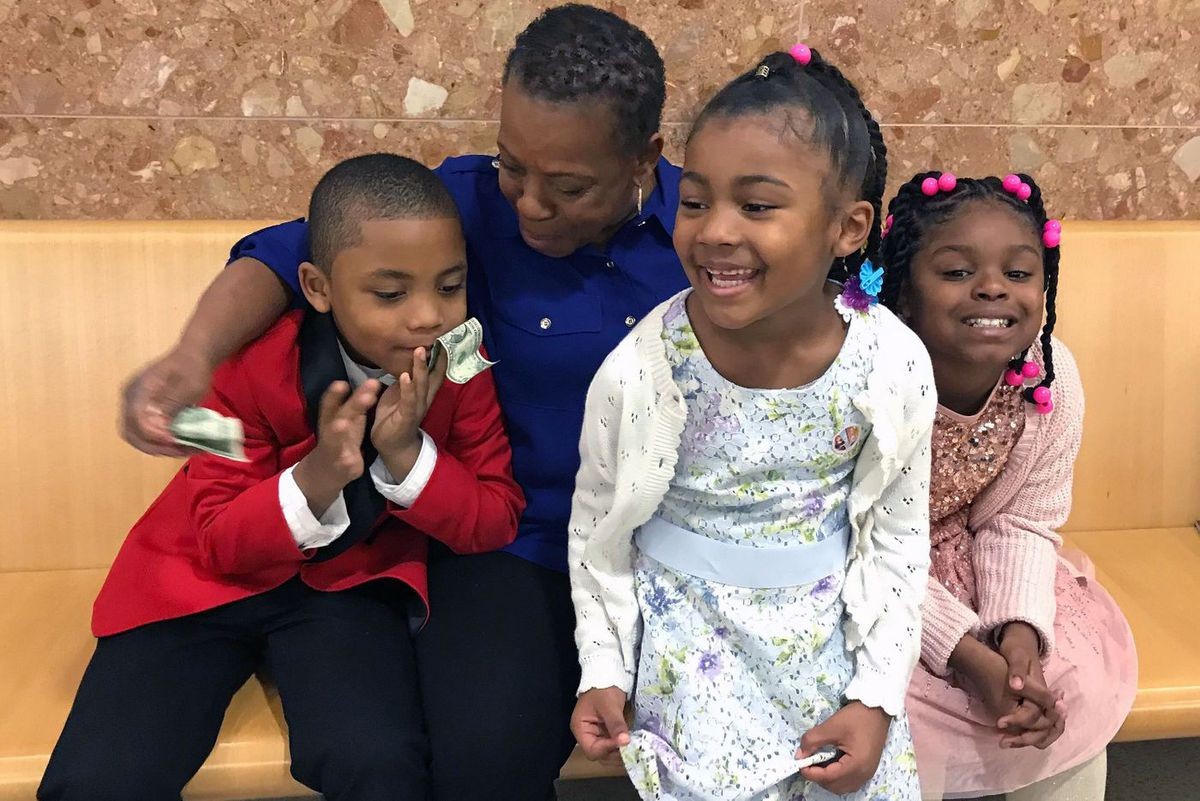 Brooklyn Family Court adoption day