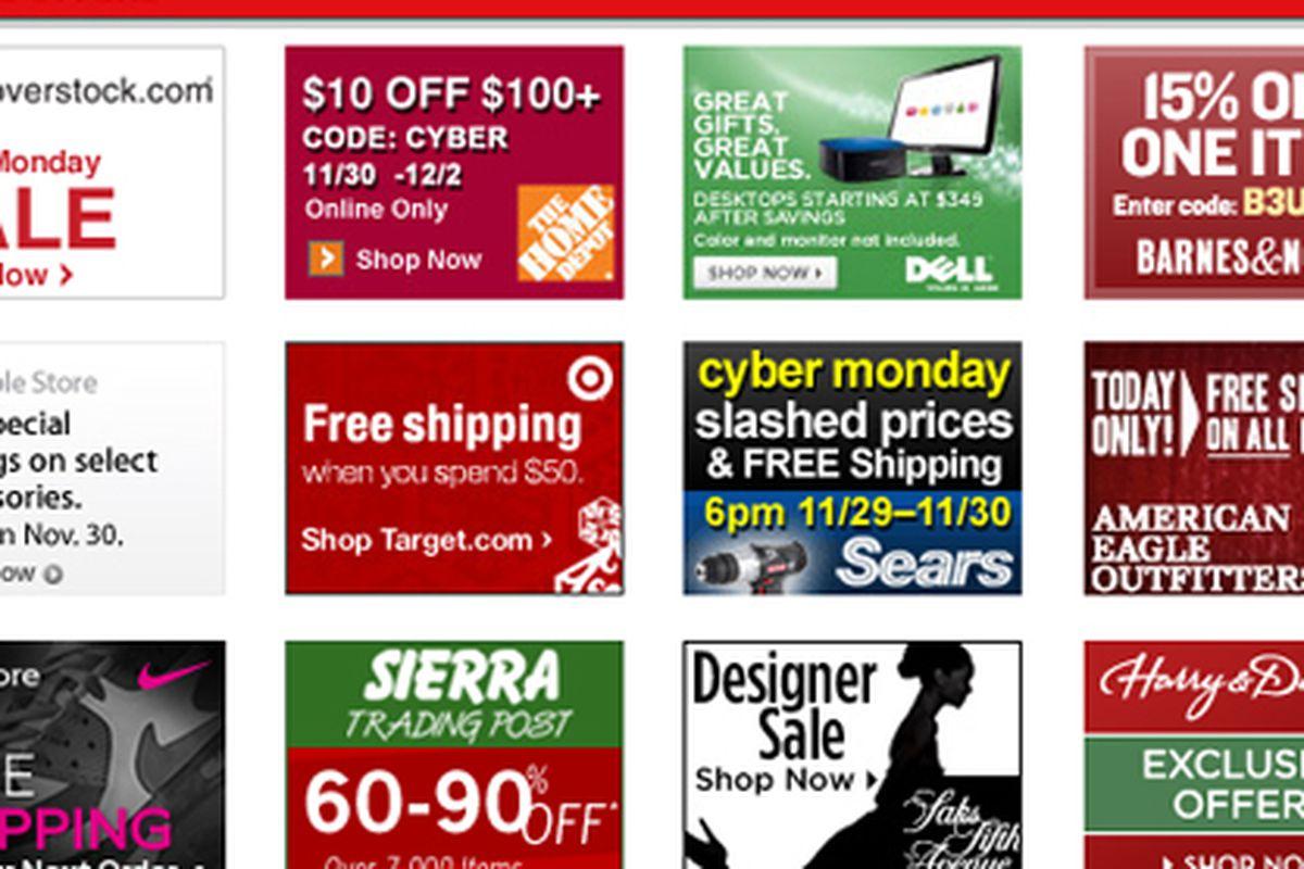 "Screengrab via <a href=""http://www.cybermonday.com/"">Cyber Monday</a>"