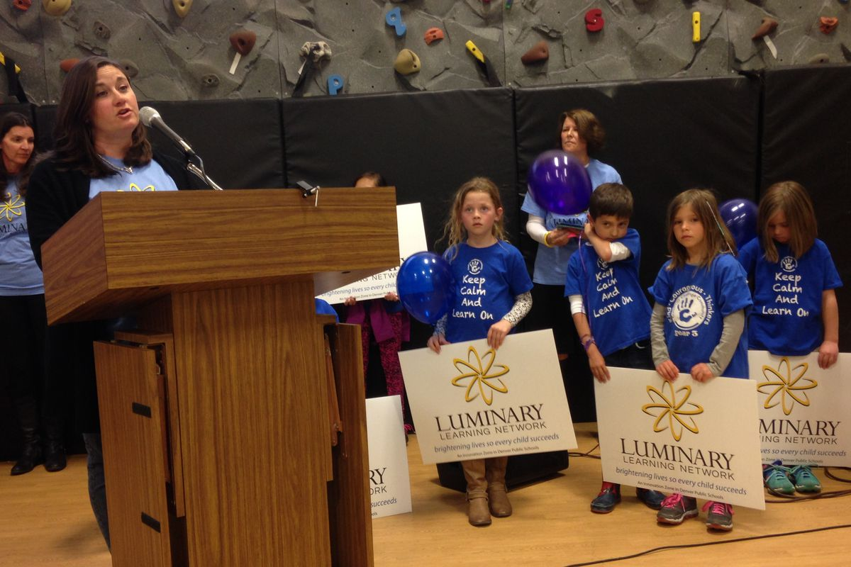 Students, parents and teachers made their case for the innovation zone.