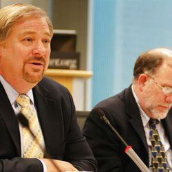 Rick Warren and Michael Cromartie