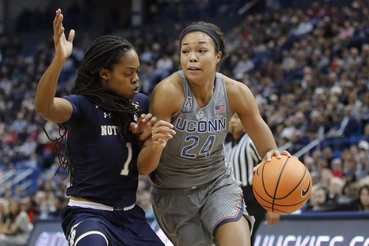 NCAA Womens Basketball: Notre Dame at Connecticut