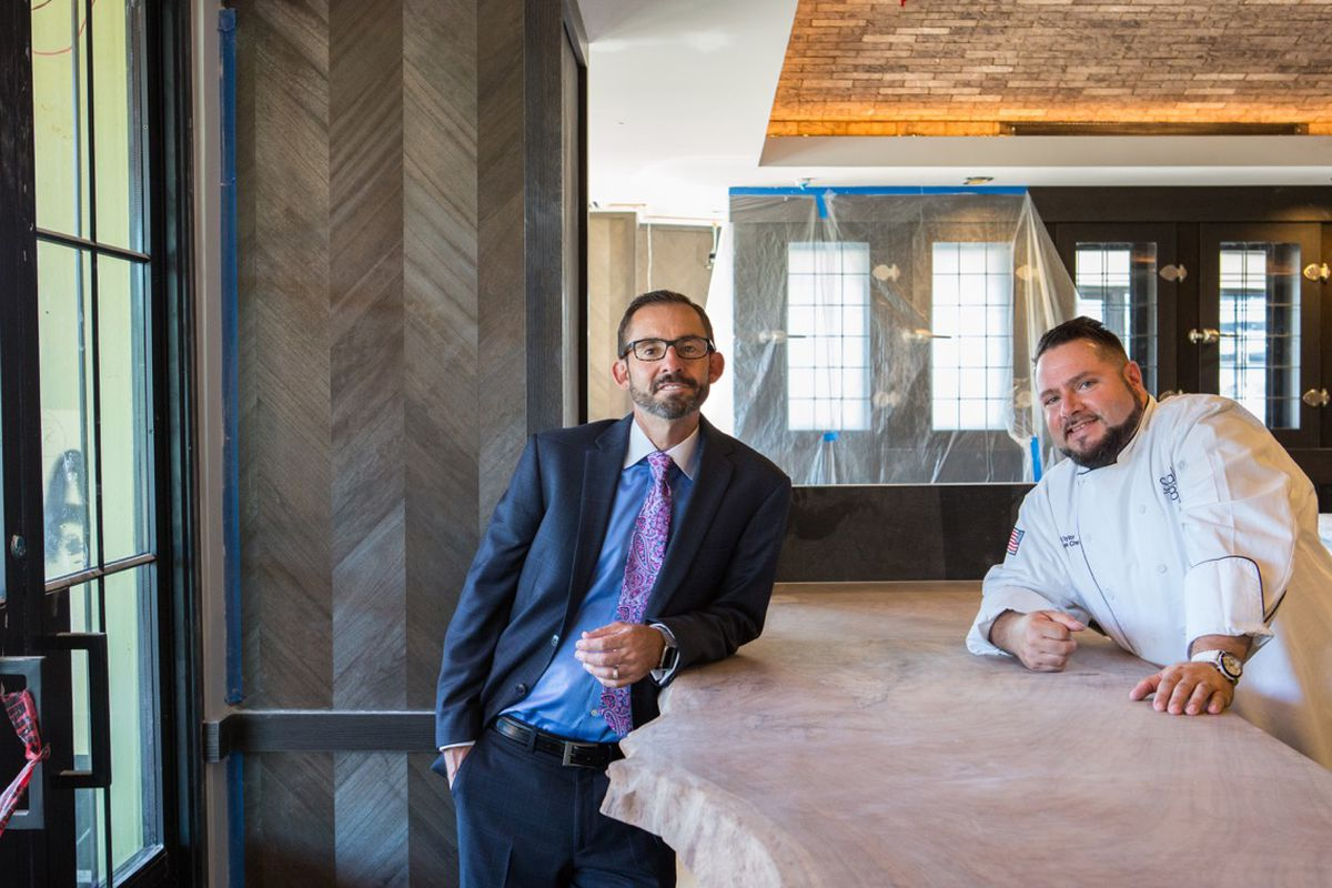 The Steak 48 dream team: Chef Jeff Taylor and owner Jeff Mastro